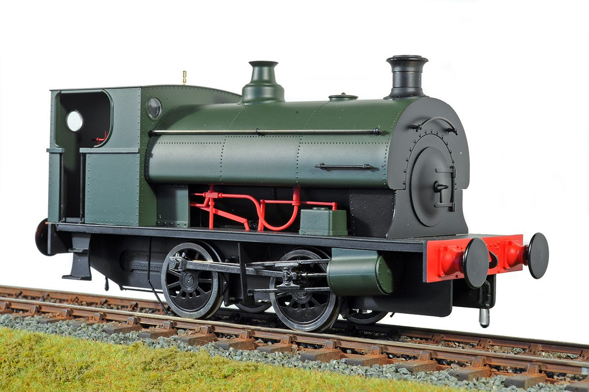 Peckett GWR green